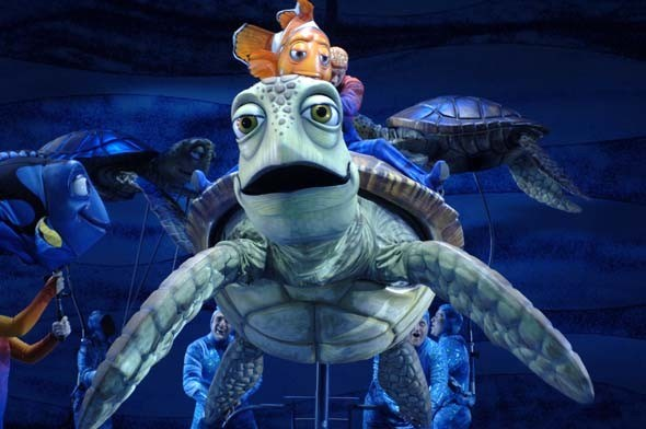 Finding Nemo - The Musical preview photos