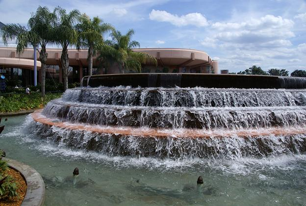 Fountain of Nations post refurbishment
