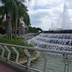 Fountain of Nations new look railings