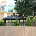 France (Pavilion) - France Meet and Greet construction - gazebo