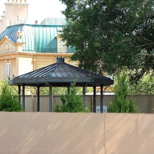 1 of 3: France (Pavilion) - France Meet and Greet construction - gazebo