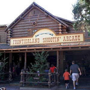 1 of 4: Frontierland Shootin' Arcade - Post refurbishment