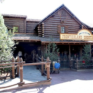 3 of 4: Frontierland Shootin' Arcade - Post refurbishment