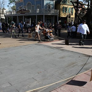 2 of 3: Frontierland - Frontierland concrete paving work