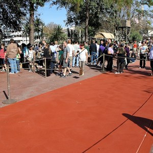 3 of 3: Frontierland - Frontierland concrete paving work