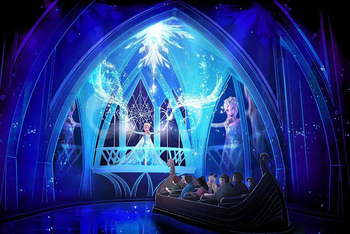 Frozen Ever After concept art