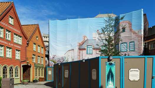 PHOTOS - Frozen Ever After and Royal Sommerhus meet and greet construction