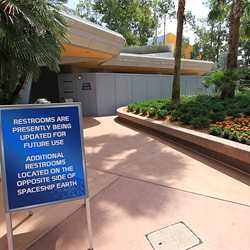 Future World East restrooms refurbishment
