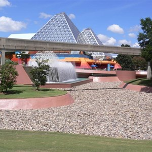 1 of 5: Future World - West lake drained