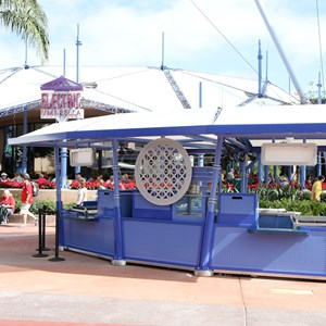 1 of 4: Future World - New Future World snack kiosk
