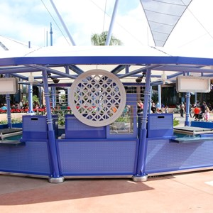 2 of 4: Future World - New Future World snack kiosk
