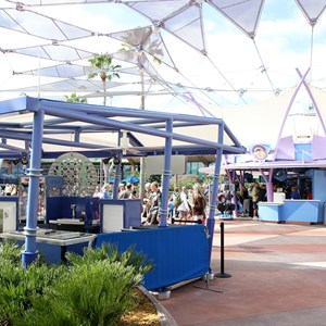 3 of 4: Future World - New Future World snack kiosk