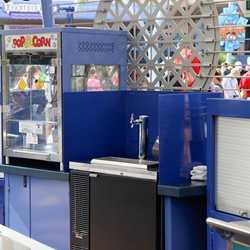 New snack kiosk