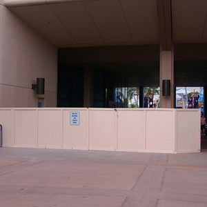 1 of 4: Future World - New flooring in breezeway
