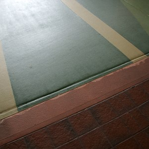 2 of 4: Future World - New flooring in breezeway