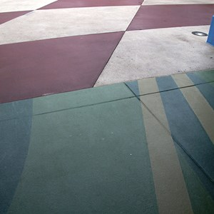 3 of 4: Future World - New flooring in breezeway
