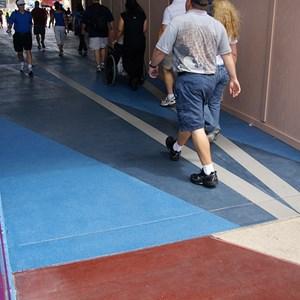 1 of 2: Future World - Breezeway East flooring refurbishment