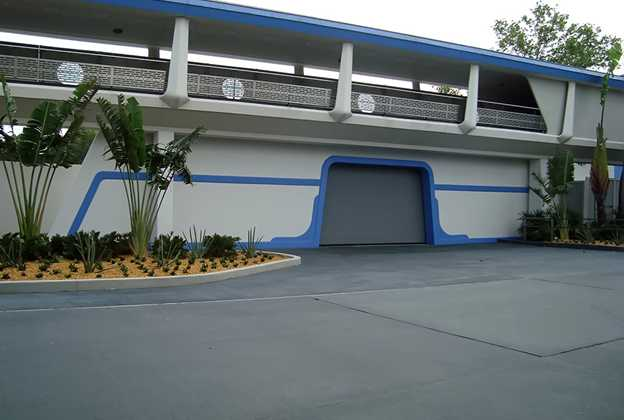 Meet and Greet area at the former Galaxy Palace Theater