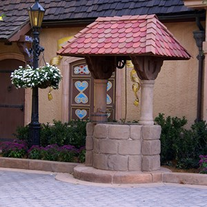 2 of 3: Germany (Pavilion) - Snow White meet and greet area completed