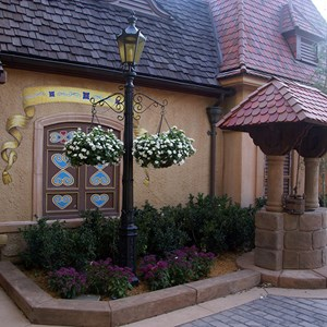 3 of 3: Germany (Pavilion) - Snow White meet and greet area completed