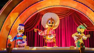 Gran Fiesta Tour Starring the Three Caballeros to move to a 9am opening