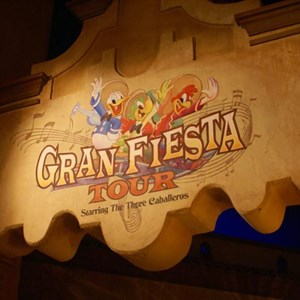 1 of 19: Gran Fiesta Tour Starring The Three Caballeros - Gran Fiesta Tour now open