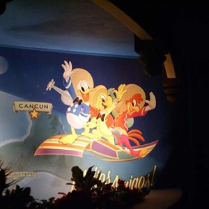 18 of 19: Gran Fiesta Tour Starring The Three Caballeros - Gran Fiesta Tour now open