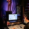 Hall of Presidents - Disney Imagineer John Cutry programs an Audio-Animatronics likeness of President Barack Obama in preparation for the July 2009 re-launch of the Hall of Presidents attraction at Walt Disney World. Copyright 2009 The Walt Disney Company.