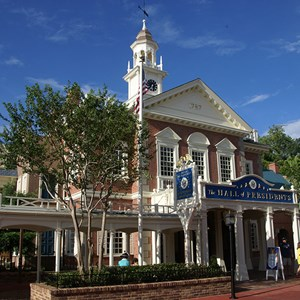 1 of 5: Hall of Presidents - Hall of Presidents newly refurbished exterior