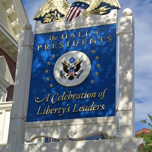 5 of 5: Hall of Presidents - Hall of Presidents newly refurbished exterior