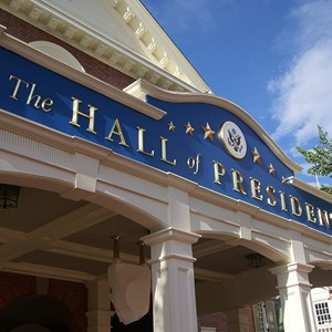 4 of 5: Hall of Presidents - Hall of Presidents newly refurbished exterior