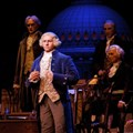 Hall of Presidents - George Washington in the newly refurbished Hall of Presidents.