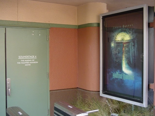 Haunted Mansion Movie Sets