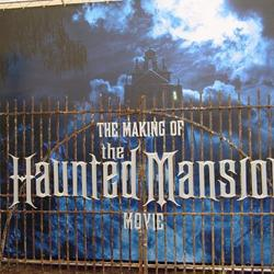 Haunted Mansion Movie Sets exterior