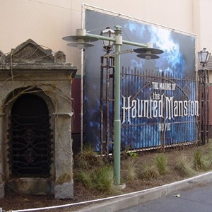 3 of 3: Haunted Mansion Movie Sets - Haunted Mansion Movie Sets exterior