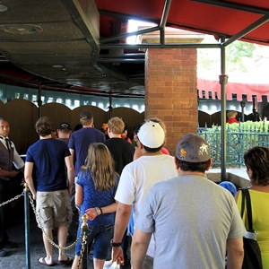 1 of 2: Haunted Mansion - Queue refurbishment
