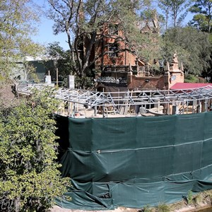 1 of 7: Haunted Mansion - Queue refurbishment