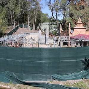 2 of 7: Haunted Mansion - Queue refurbishment