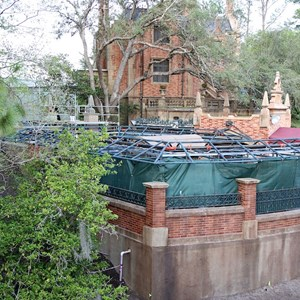 1 of 8: Haunted Mansion - Queue refurbishment