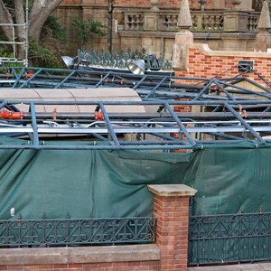 2 of 8: Haunted Mansion - Queue refurbishment