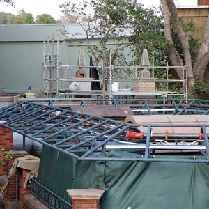 3 of 8: Haunted Mansion - Queue refurbishment