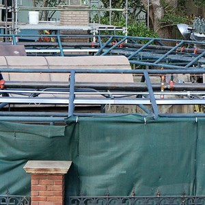 4 of 8: Haunted Mansion - Queue refurbishment