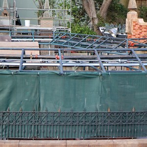 5 of 8: Haunted Mansion - Queue refurbishment