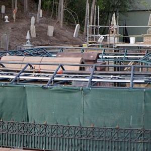 6 of 8: Haunted Mansion - Queue refurbishment