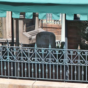 6 of 6: Haunted Mansion - Queue construction complete