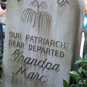 5 of 24: Haunted Mansion - A very nice touch, tribute to Marc Davis