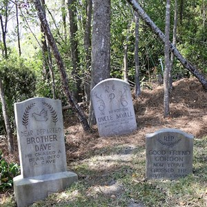 13 of 24: Haunted Mansion - Some of the old tombstones have returned to the hillside