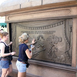 15 of 24: Haunted Mansion - Guests playing the musical surfaces