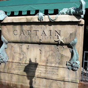 16 of 24: Haunted Mansion - The Captain tomb - has multiple sound effects and water jets that squirt out towards guests