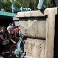 Haunted Mansion - The side of the Captain's tomb
